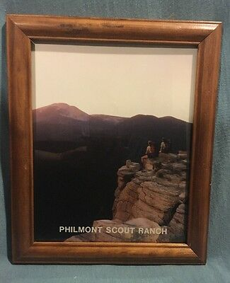 Vintage BSA Official Philmont Scout Ranch Photo 1980's Baldy