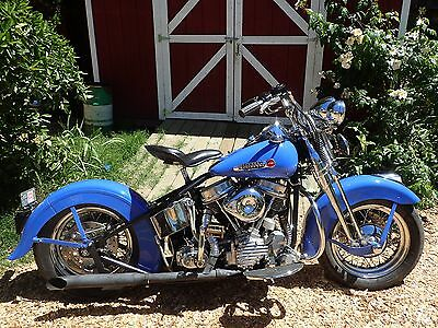 2001 Custom Built Motorcycles Other  Custom 1948 Harley Panhead Springer ALL MODERN PARTS