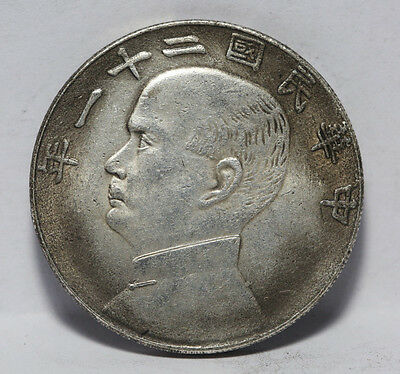 China Silver Dollar coins    f11