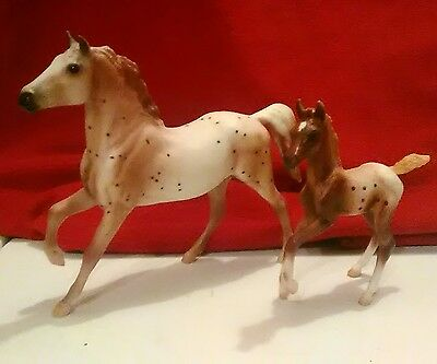 Breyer Classics Series #62041 Model Horse Set Appaloosa Horse & Foal