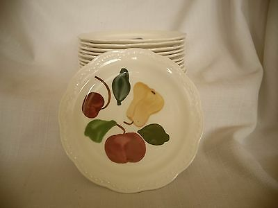 12 HERITAGE WARE by STETSON BREAD & BUTTER PLATES 6 3/8