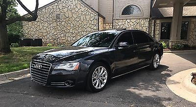 2012 Audi A8 A8L 2012 AUDI A8L NAVIGATION REAR VIEW CAMERA NIGHT VISION HEATED AND COOLED SEATS