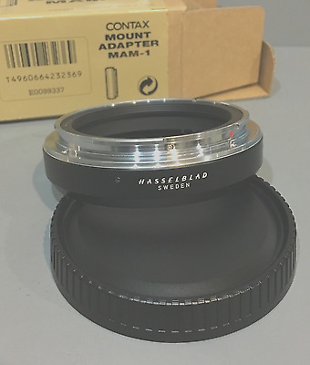 CONTAX MAM-1 Mount Adapter for Contax 645 to use Hasselblad Lens
