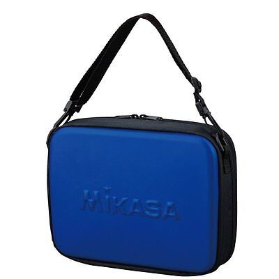 Mikasa Volleyball Referee Case VRC Blue and Black Referee Bag 25×19×6.5 cm