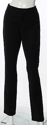 Women's LORD & TAYLOR Black Cotton Casual Pant Size 8