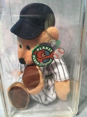 Mickey Mantle Plants Dugout Plush Dodgers Hall of Fame Baseball NWT 7 Case MLB