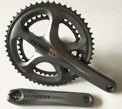 SHIMANO ULTEGRA FC 6700 CRANKSET 53/39T . 175mm FOR 10 SPEED ROAD BIKE
