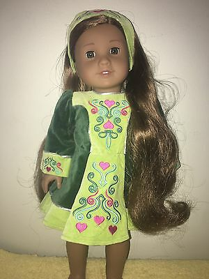 American Girl Nellie Irish Dance Outfit Retired