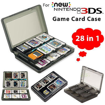 28 in 1 Game Card Case Holder Cartridge Storage Box for Nintendo 3DS XL LL New