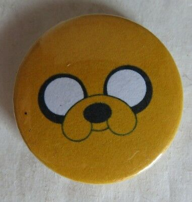 Small Dog Face Game Pin Pinback Button                  (Inv13598)