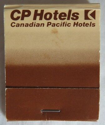 Vintage Canadian Pacific Cp Hotels Matchbook             (Inv13630)
