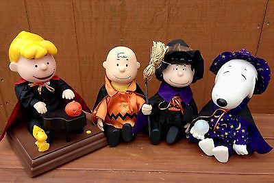 Peanuts charlie Brown MOTION Halloween Dance Along with Me Music SET 4