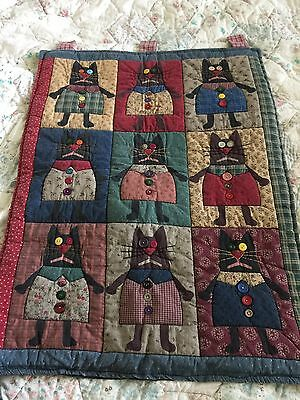 Vintage Quilt Wall Hanging