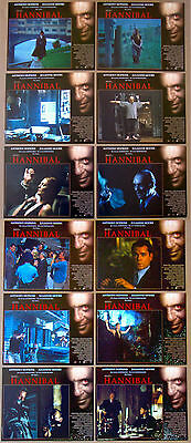 HANNIBAL Silence of the Lambs ANTHONY HOPKINS SET of 12 11x14 LOBBY CARDS