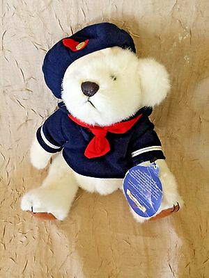 1996 Pickford Brass Button Bear Collectible Taylor Plush Stuffed Jointed Sailor