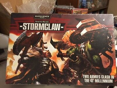 """GWS 40K """"Stormclaw"""" Orks VS. Space Wolves"""
