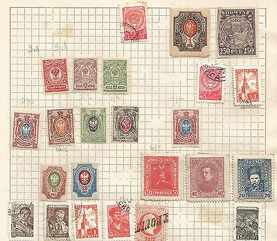 RUSSIA-  lot of 24 STAMPS