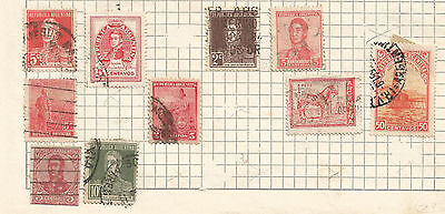 ARGENTINA -  lot of 10 STAMPS