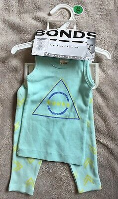 BONDS Mint Green Pj Ribbies Set BNWT 000 $18.95. 10 Items =$5 Post