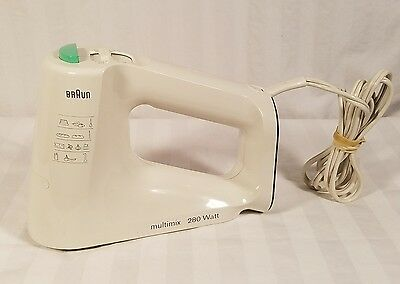 Braun Multimix 280W Hand Mixer 4642 Replacement Motor Base Only