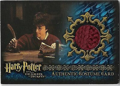 Harry Potter Chamber of Secrets Costume Card C12 493/540 Rare Daniel Radcliff