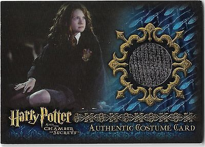 Harry Potter Chamber of Secrets Costume Card Rare C9 073/190 Bonnie Wright