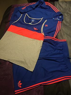 Men's Adidas Originals Firebird Complete Tracksuit Outfit Brand New With Tags XL