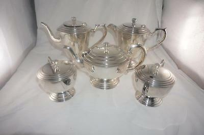 Vintage Silcraft Silver Plate A1 EPNS. Tea and Coffee Service - 5 pieces