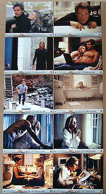 WHAT LIES BENEATH Michelle Pfeiffer HARRISON FORD 11x14 DELUXE LOBBY CARD SET 10
