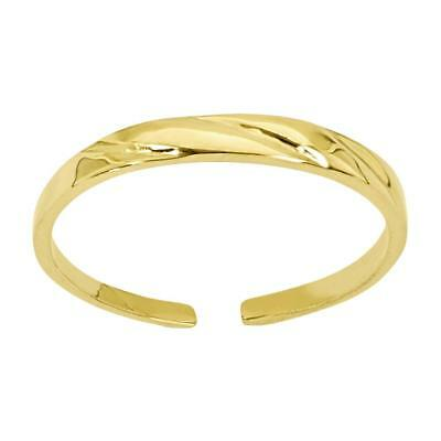 14k Yellow Gold Fancy Toe Ring C2096