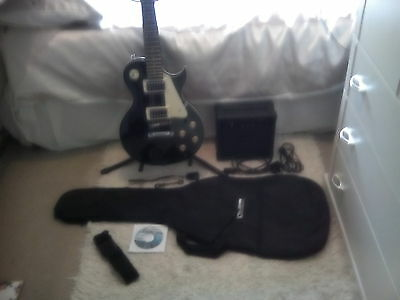 Encore Electric Guitar complete started set