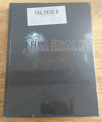 Complete Official Guide Final Fantasy Xv 15 Collector's Edition - New & Sealed!