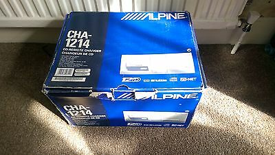 Alpine Cha 1214 Ai Net 12 Disc Auto Changer Boxed 5M Ai-Net Lead Included Vgc