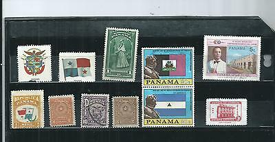 Panama. Selection Of 6. Very Fine Used.  As Per Scan