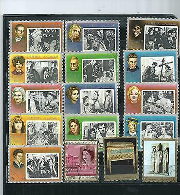 Fujeira. ( Uae )1971.  Selection Of16. Set 1. Very Fine Used.  As Per Scan