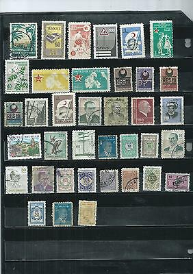 Turkey. Selection Of 37 .  Fine Used.  As Per Scan
