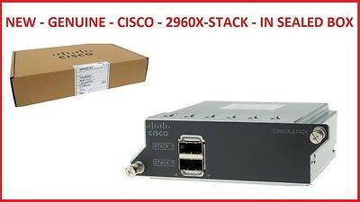 New - Cisco 2960X-Stack - In Sealled Box