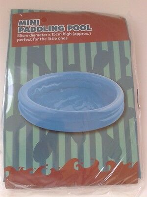 Mini Paddling Pool (Small) - (Great Fun for Kids/Babies/even Dogs!) - NEW.