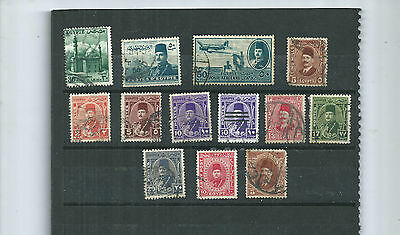 Egypt.  Selection Of 13. Used.  As Per Scan