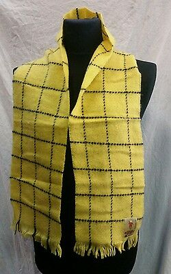 Authentic Rupert The Bear Wool Scarf