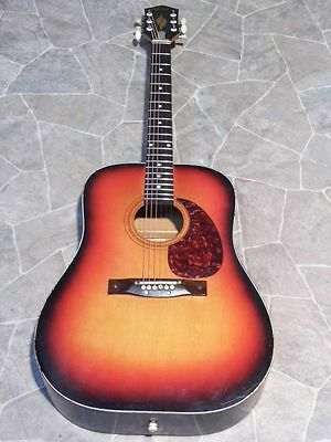 vintage EGMOND 6string dreadnought Gitarre guitar Westerngitarre Holland