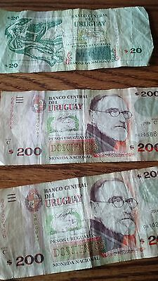 $420 dollars from Uruguay current money