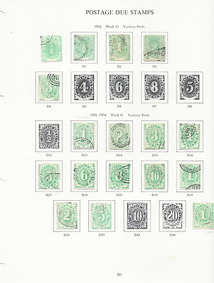 Australia 1902-53 Postage Due Collection (75+ & Block Of 12) All Fu High Cat