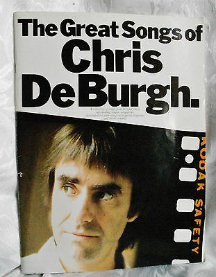 The Great Songs of Chris de Burgh-Song Book-1992