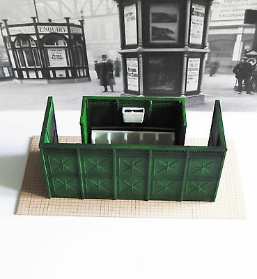 Reduced ! O Gauge Scratch Built Unique Victorian Urinal, Fully Painted, Bargain