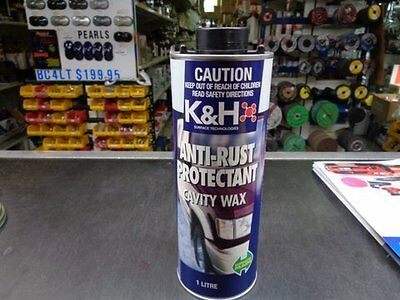 Cavity - Wax Automotive K & H Anti - Rust Protective 1lt $12.95 Pick Up Only
