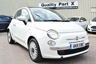 2011 Fiat 500 1.2 Lounge Dualogic 3dr (start/stop)