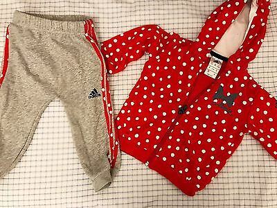 aliexpress more photos great deals ADIDAS 80 MINNIE Mouse Baby Anzug 9 12 Jogginganzug Hose ...