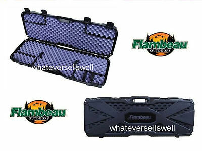 TACTICAL HARD GUN CASE shotgun rifle Shooting Hunting AIR pistol flambeau