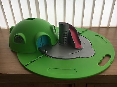 Teletubbies Hill Home House Tubby Dome Playset Working Lights Carry Handle